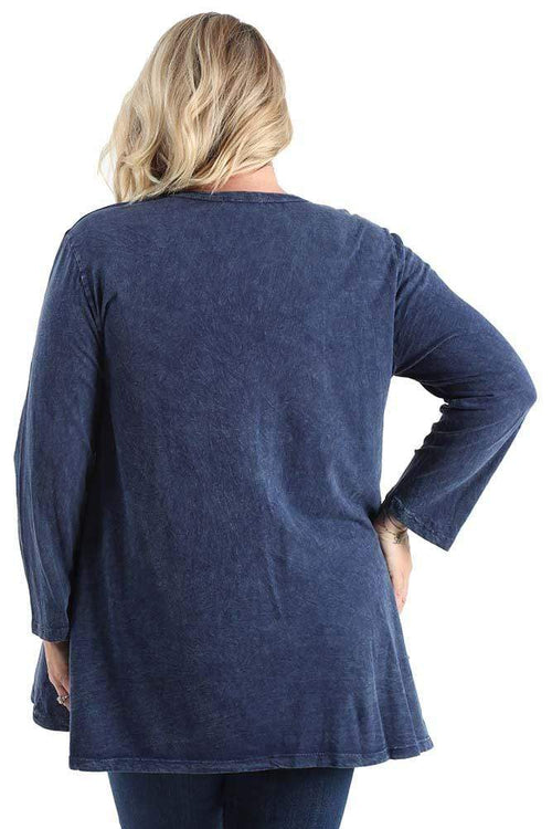 Tops Jess and Jane Critters Pocket Tunic