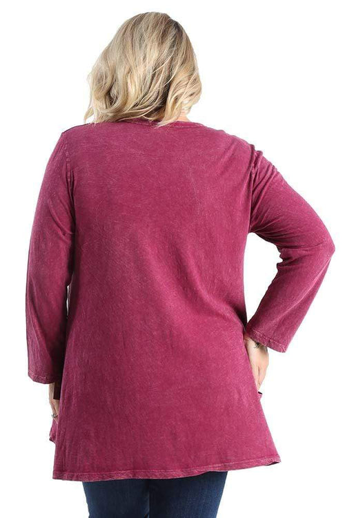 Tops Jess and Jane Santa Monica Pocket Tunic