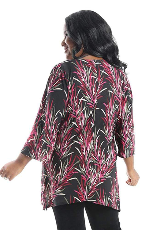 Tops Vikki Vi Jersey Antigua Shark Bite Tunic