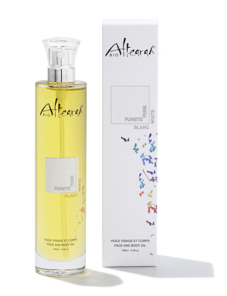 Cleansing with Altearah White Body Oil