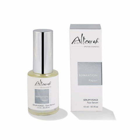 Altearah Repair Face Serum in Silver Repair