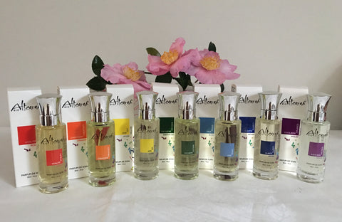 Altearah Perfume Chakra Colour Set