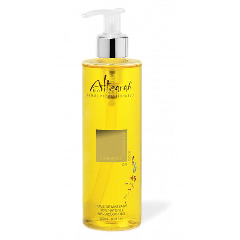 Altearah Massage Oil in Gold Confidence