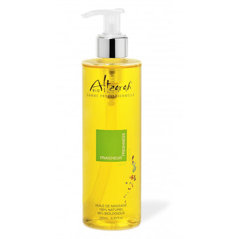 Altearah Massage Oil in Green Freshness