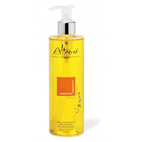 Altearah Massage Oil in Orange Creativity