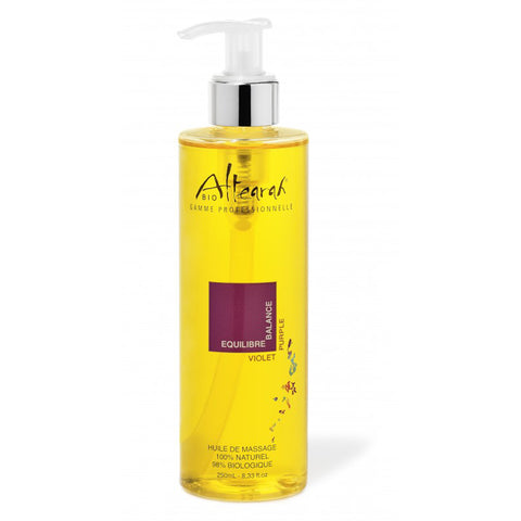 Altearah Massage Oil in Purple Balance