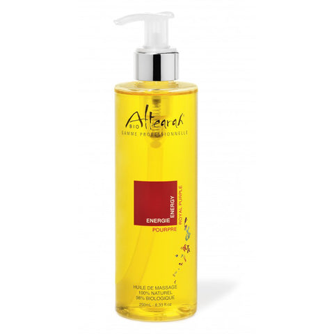 Altearah Massage Oil in Royal Purple Energy