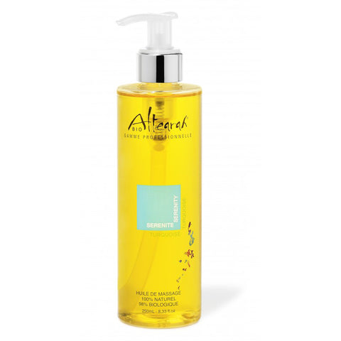 Altearah Massage Oil in Turquoise Serenity