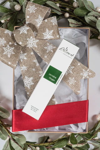 Altearah Christmas Boxed Set: Emerald Oxygen Body Oil