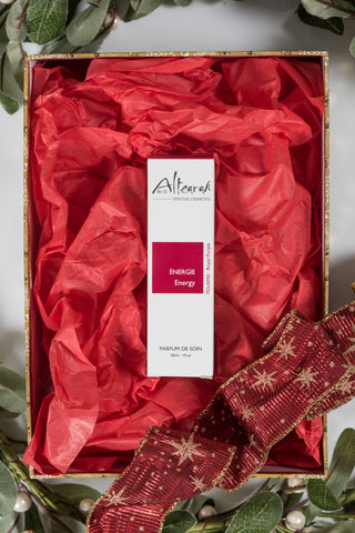 Altearah Christmas Boxed Set: Royal Purple Energy Perfume
