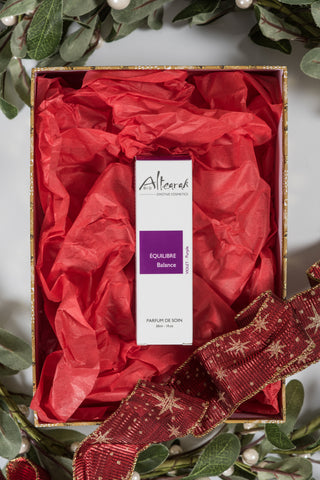 Altearah Christmas Boxed Set: Purple Balance Perfume