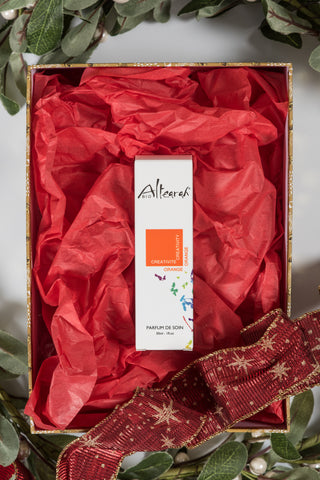Altearah Christmas Boxed Set: Orange Creativity Perfume
