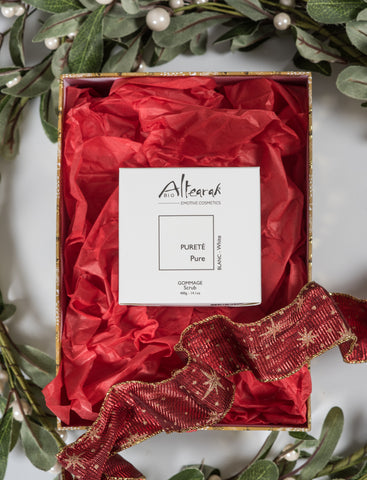 Altearah Christmas Boxed Set: White Pure Body Scrub
