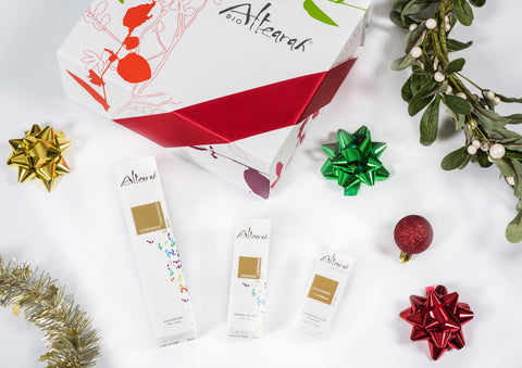 Altearah Christmas Boxed Set: Gold Confidence Body Oil, Perfume & Concentrate