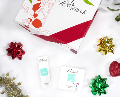 Altearah Christmas Boxed Set: Turquoise Serenity Perfume & Concentrate