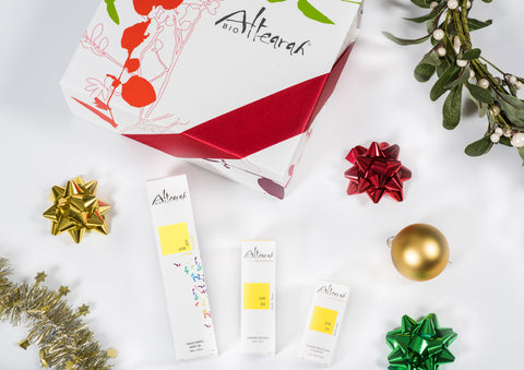 Altearah Christmas Boxed Set: Yellow Joy Body Oil, Perfume & Concentrate