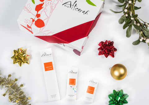 Altearah Christmas Boxed Set: Orange Creativity Body Oil, Perfume & Concentrate
