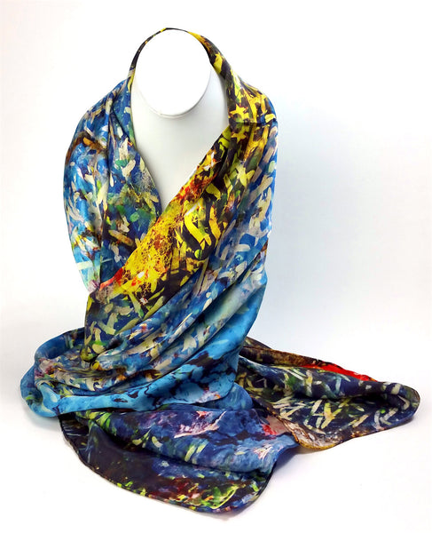Sacred River Scarf – by Guatopo Design