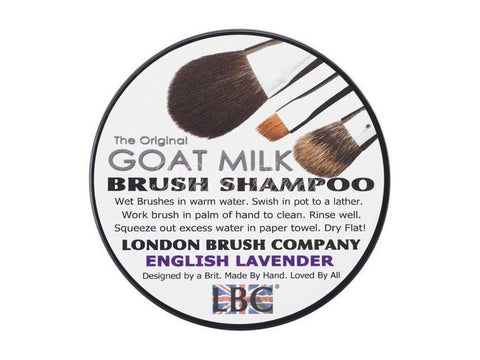 London Brush Company - Pure Goat Milk Solid Brush Shampoo: English Lavender