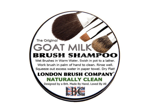 London Brush Company - Goat Milk Solid Brush Shampoo: Naturally Clean