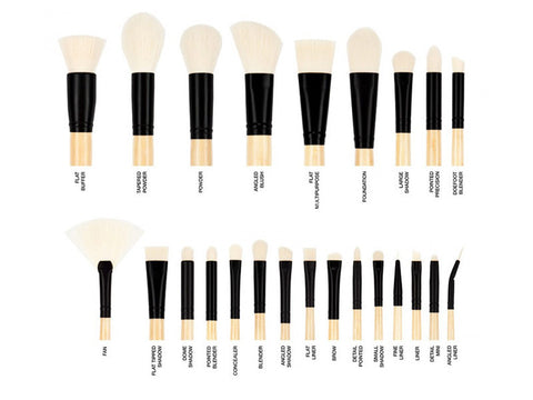 Coastal Scents - Elite Brush Set Bamboo Collection
