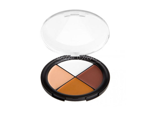 Coastal Scents - Camo Quad Concealer Dark