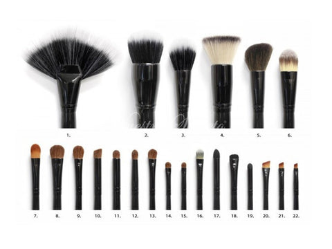 Coastal Scents - 22 Piece Brush Set