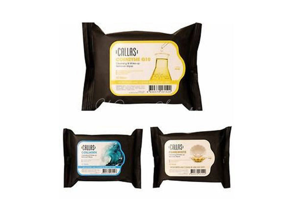 Callas - Cleansing & Make Up Remover Wipes Collagen