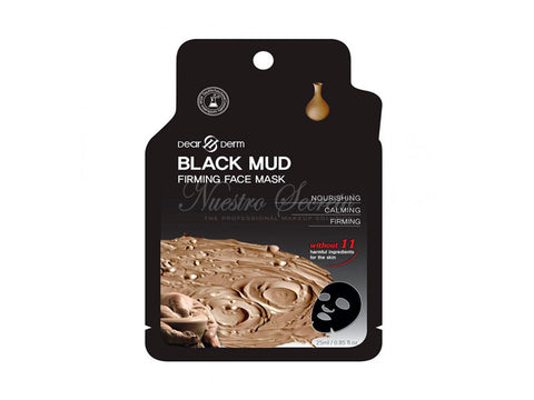 Dearderm Mascarilla Black Mud