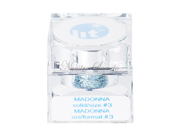 Lit Cosmetics Ltd - Madonna - size #3 (blue)
