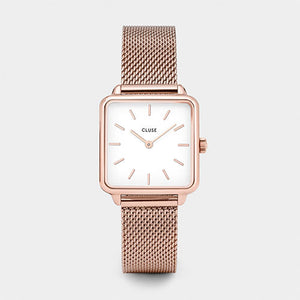 "WATCH CLUSE ""La Garconne Rose Gold Mesh"""