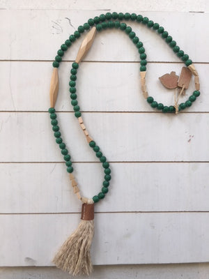 Rare Rabbit 'Long Tent Beads Necklace'