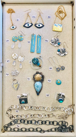 Tray 5 4th Virtual Facebook Live Art Jewelry Show