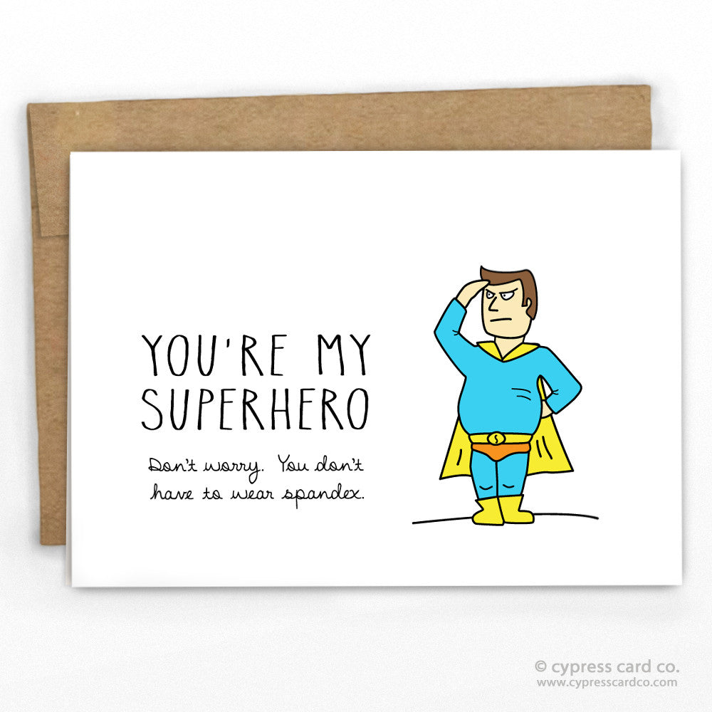 Funny Father's Day Card By Cypress Card Co. | 100% Recycled | www.cypresscardco.com