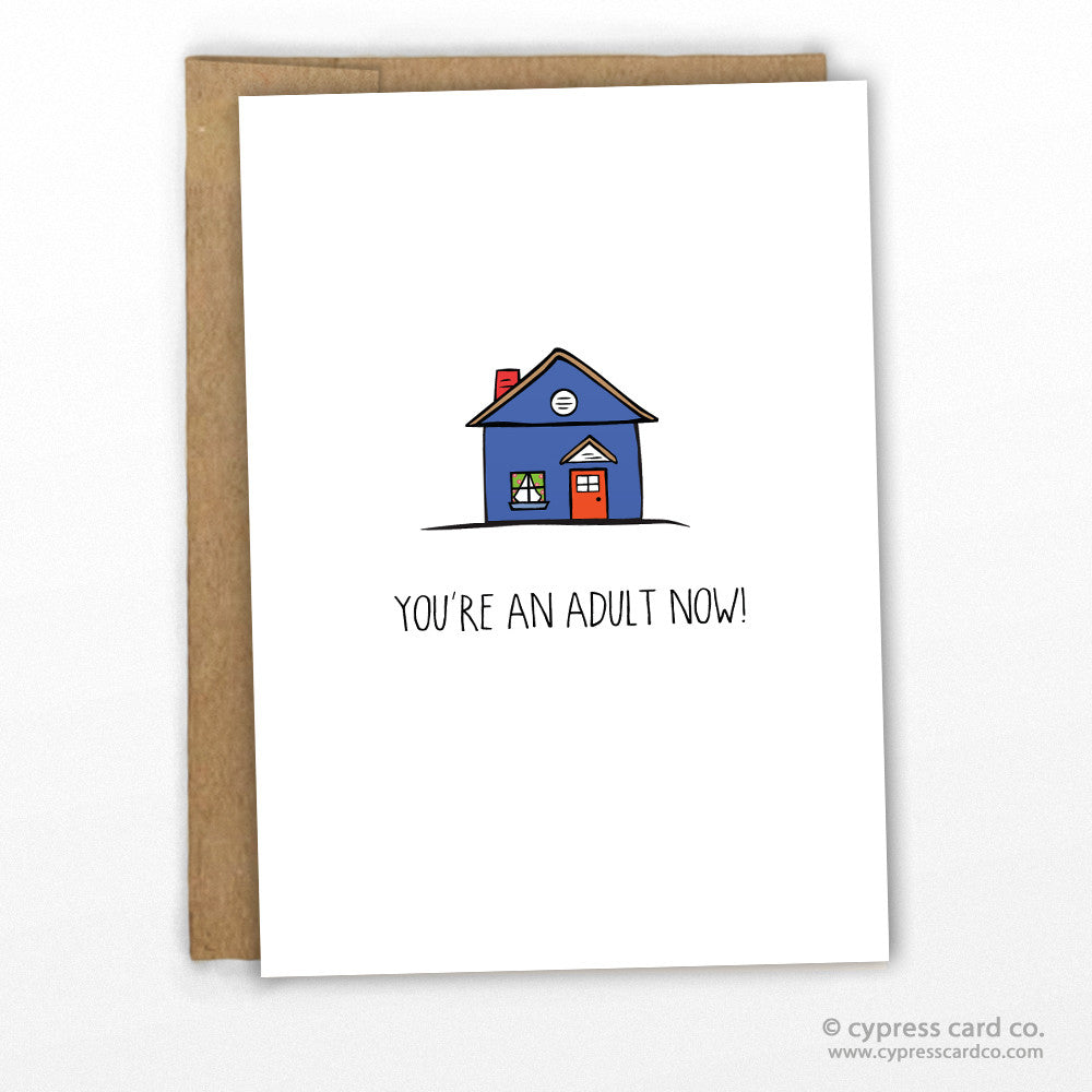 New Home Congratulations Card by Cypress Card Co, wholesale greeting cards