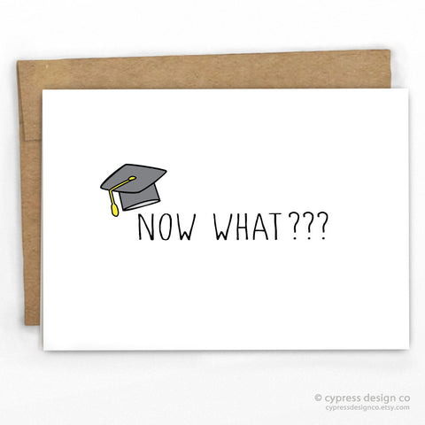 Now What??? Graduation Card