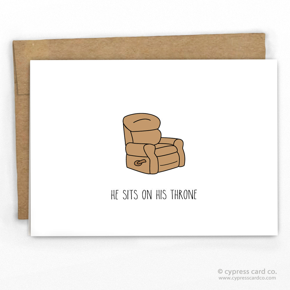 Funny Fathers Day Card By Cypress Card Co. | 100% Recycled | www.cypresscardco.com