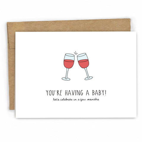 Funny Baby Congratulations Card by Cypress Card Co. | Wholesale Greeting Cards