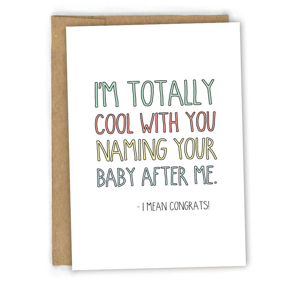 Lovely Funny New Baby Card – Cypress Card Co. FB88