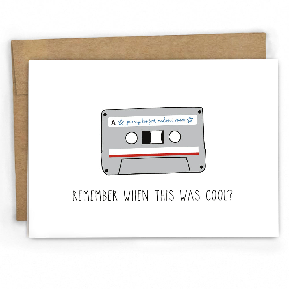 Funny Birthday Card - The 80s - Greeting Cards by Fresh! Card Co.