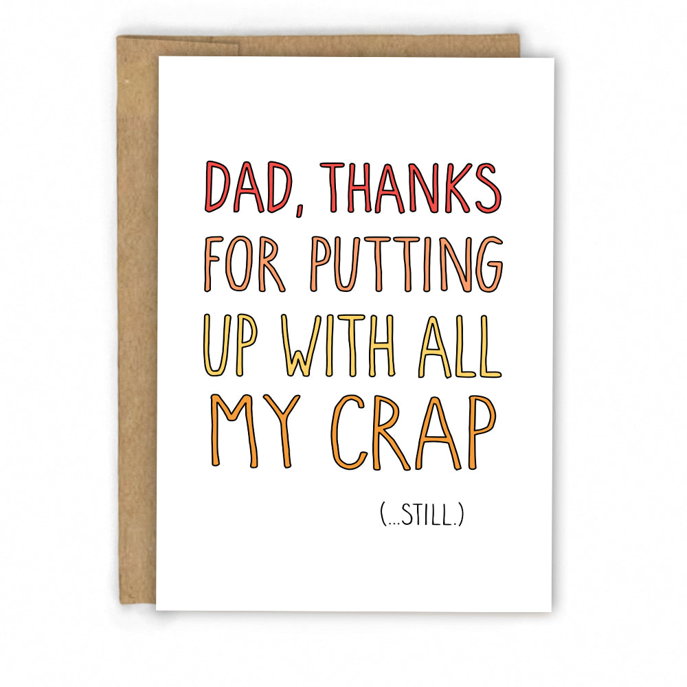Funny Father's Day Card by Fresh! | Wholesale Greeting Cards