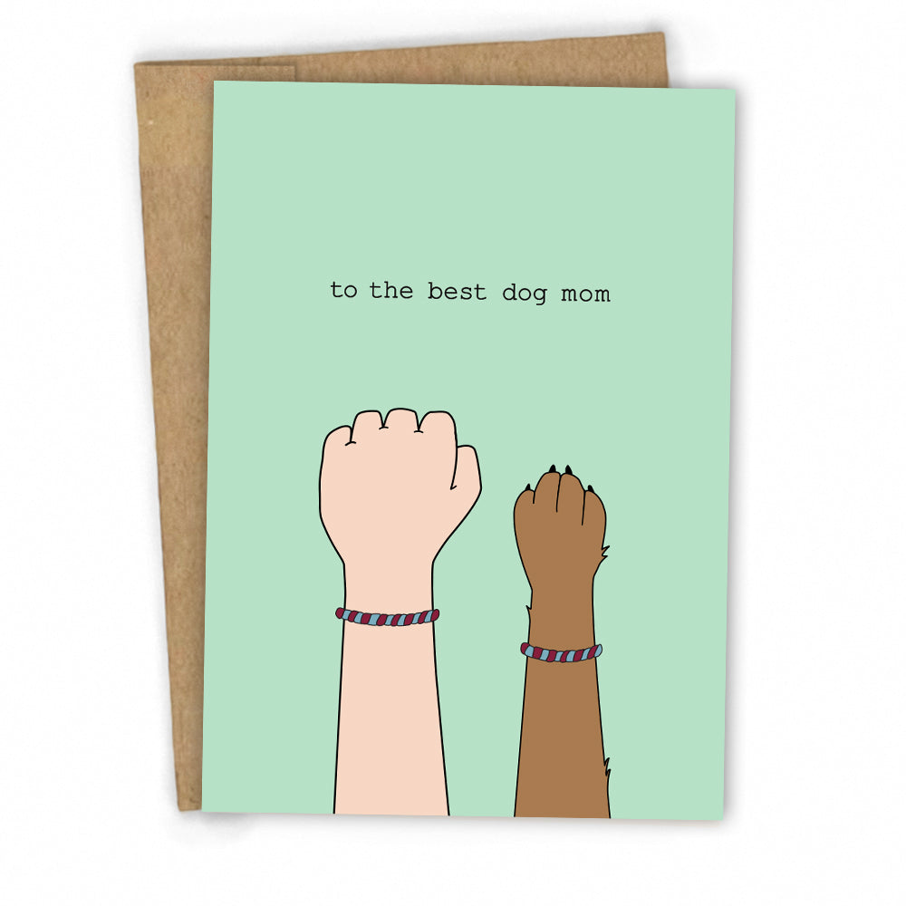 Mothers Day Card | Dog Mom Greeting Card for Birthdays, Mothers Day or Friendship