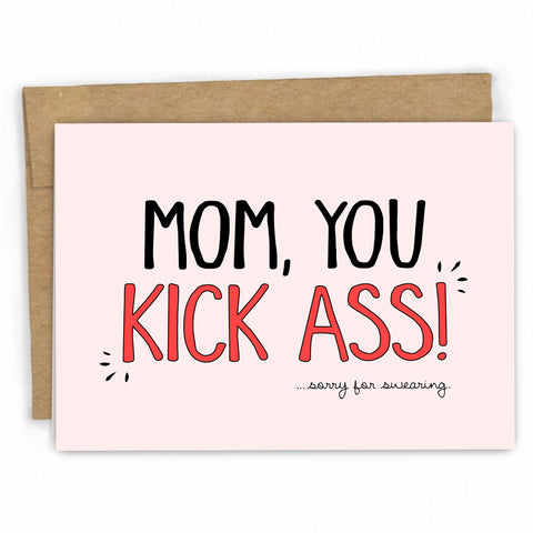 Funny Card for Mom | Mothers Day Card | Mom Birthday Card