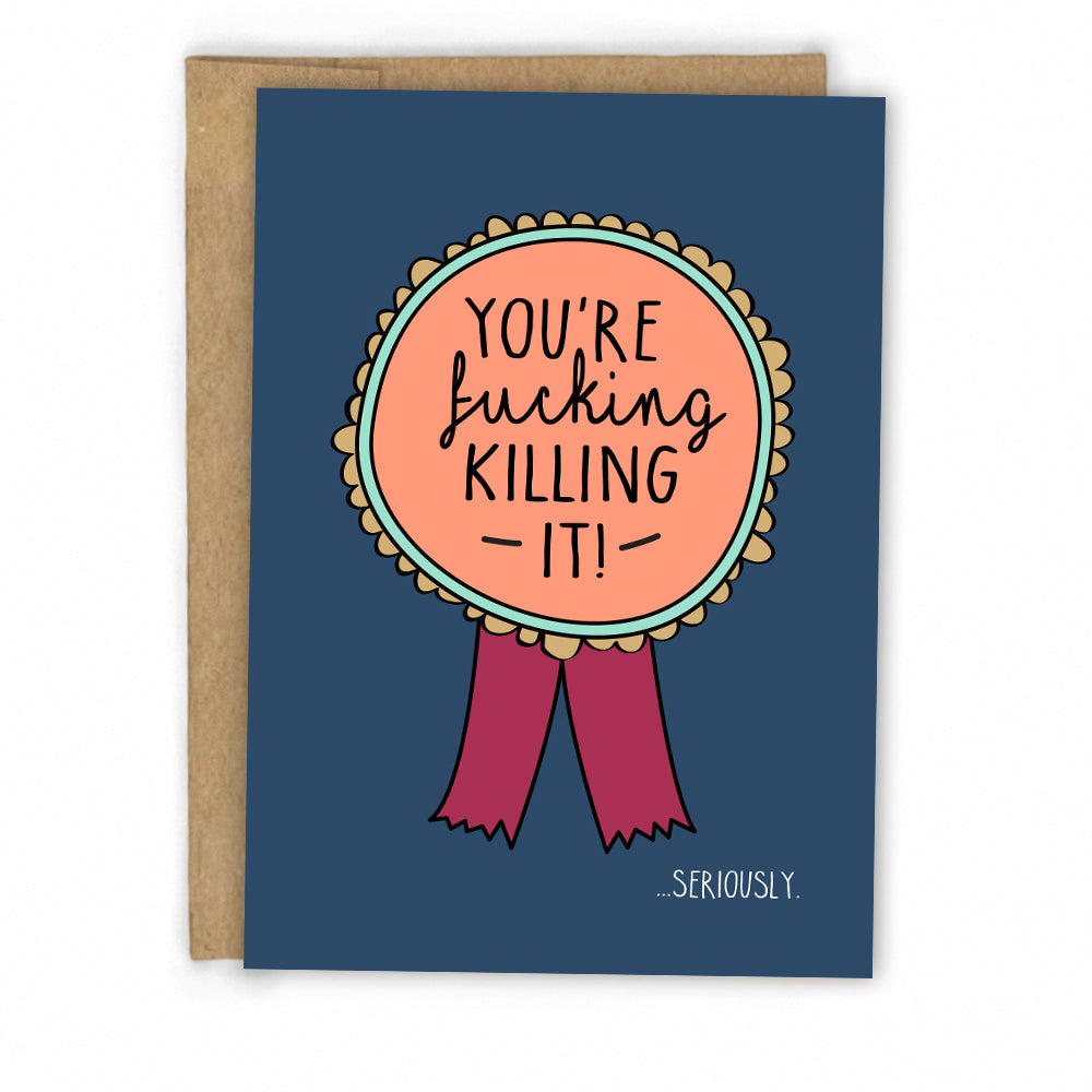 Encouragement Card | Congratulations Card by FRESH! | Retail + Wholesale Greeting Cards