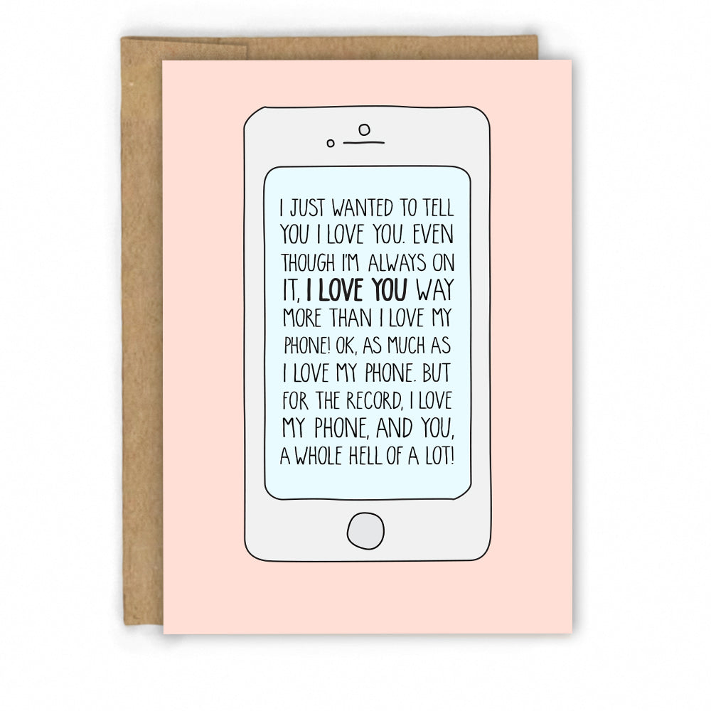 Funny Love Card | Valentines Card by Fresh! | Retail + Wholesale Greeting Cards