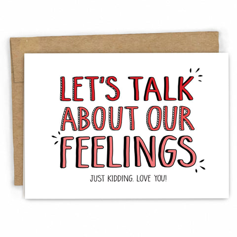 Funny Love Card | Feelings