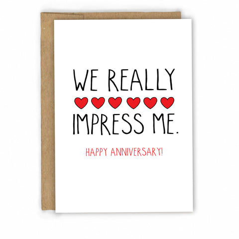 Funny Anniversary Card by FRESH! | Retail + Wholesale Greeting Cards