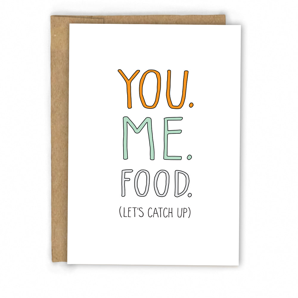 Funny Friendship Card | Let's Do Lunch by Fresh! | Retail + Wholesale Greeting Cards