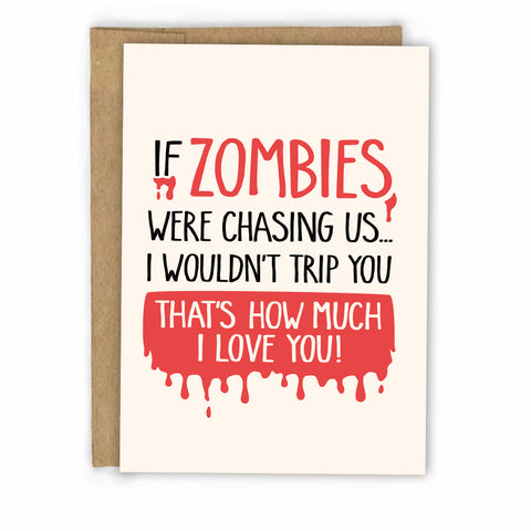 Funny Love Card | Zombie Card by FRESH!
