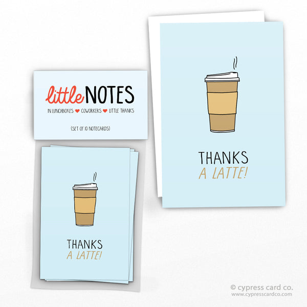 Thanks a Latte! (Set of 10)